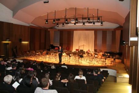Koncert godalnih in simfoničnih orkestrov glasbenih šol iz Velenja in Kranja