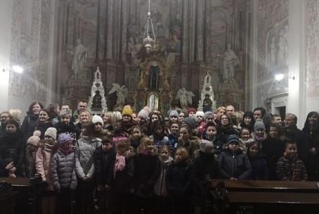 Godalci Glasbene šole Velenje na obisku adventnega koncerta v Zagrebu