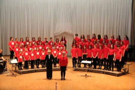 Zapopajmo v novo leto, koncert otroškega in mladinskega pevskega zbora Glasbene šole Velenje z gosti