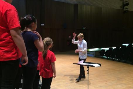 Koncert pevskih zborov Glasbene šole Velenje in Šolskega centra Velenje