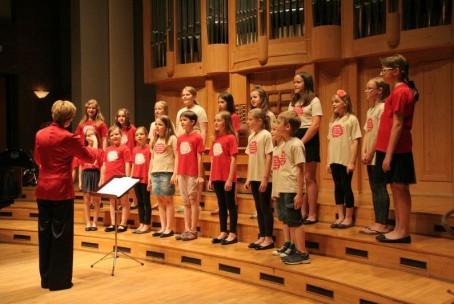 Koncert pevskih zborov Glasbene šole Velenje in Šolskega centra Velenje, 11. junij 2015