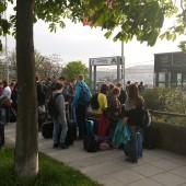 Prihod v Stuttgart.