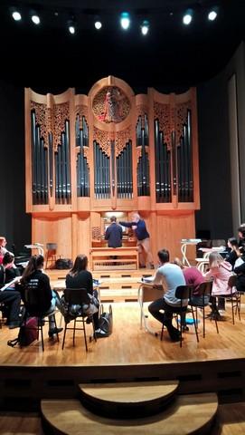 16. mednarodna orgelska šola in Baročni večer