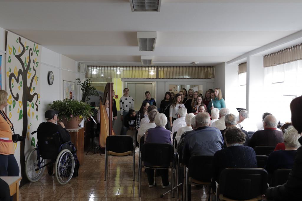 Dijaki kot prostovoljci ŠCV