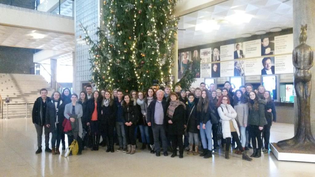 Ekskurzija dijakov v Zagreb