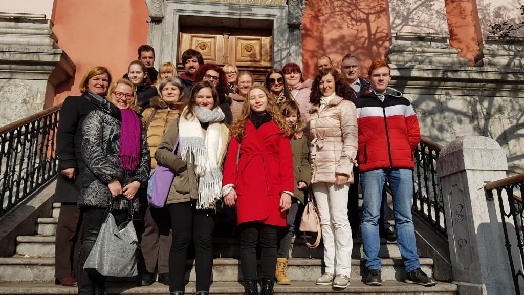 Maša za diplomate v frančiškanski cerkvi v Ljubljani