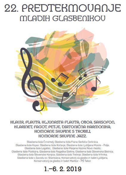 22. predtekmovanje mladih glasbenikov Republike Slovenije