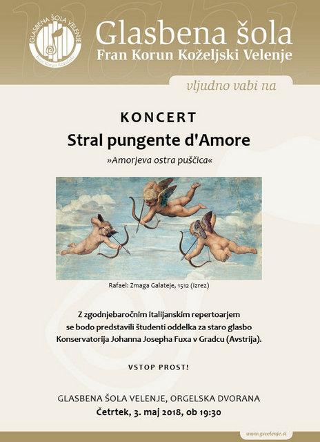 Stral pungente d'Amore (Amorjeva ostra puščica)
