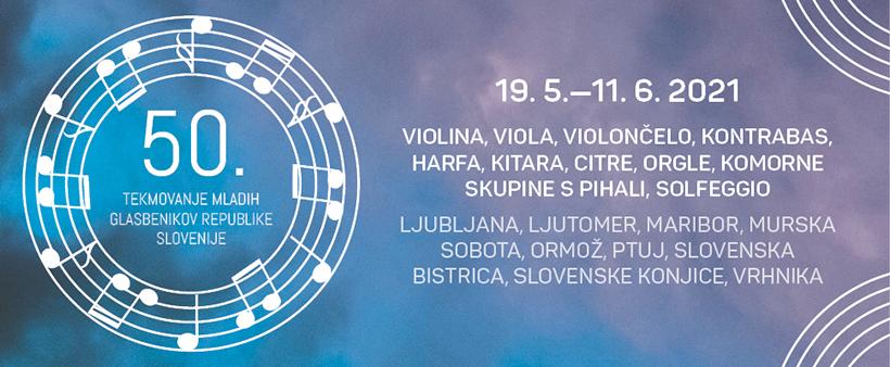 50. tekmovanje mladih glasbenikov Republike Slovenije - TEMSIG