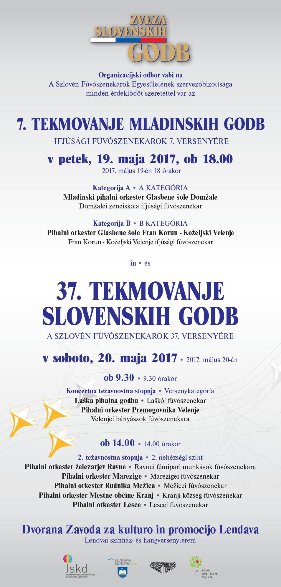 Mladinski pihalni orkester prejel zlato nagrado v Lendavi