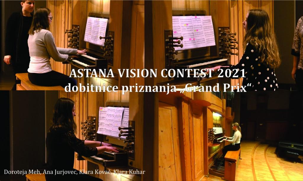 Uspeh naših orglavk na spletnem tekmovanju v Kazahstanu