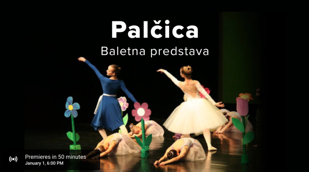 Baletna predstava Palčica