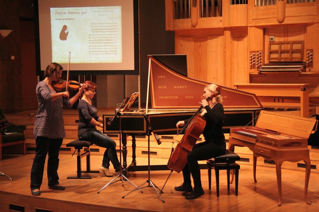 Sobotno dopoldne v družbi baročne glasbe