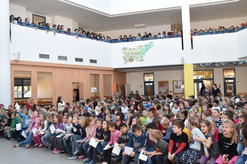 Koncert učencev oddelka Šoštanj ob kulturnem prazniku