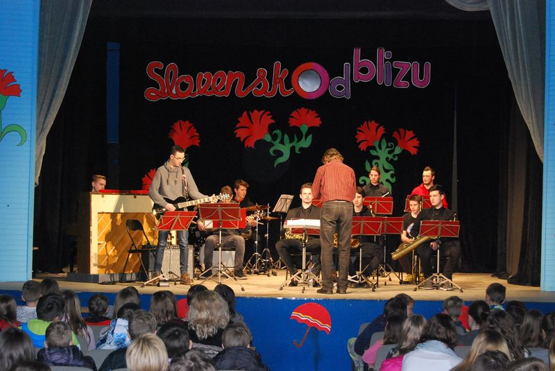 Koncert Big banda Glasbene šole Fran Korun Koželjski Velenje v Šmartnem
