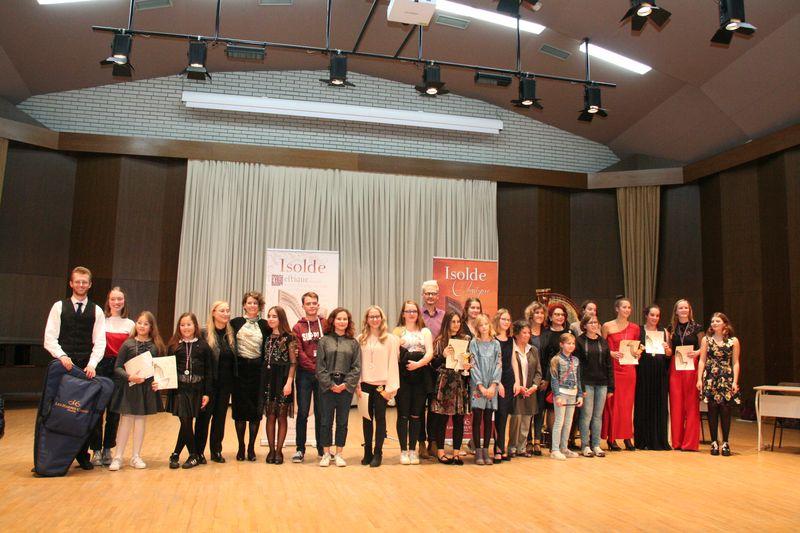Zaključek 5. mednarodnega tekmovanja Društva harfistov Slovenije