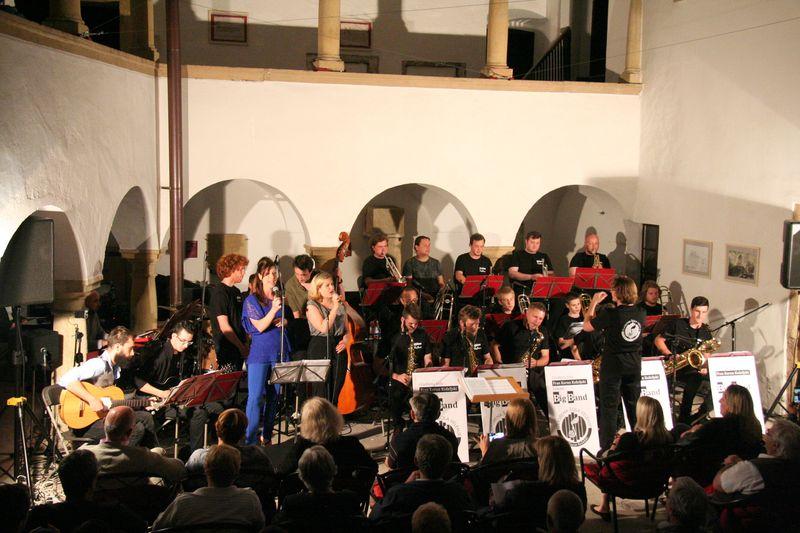 Big band Glasbene šole Velenje nastopil ob 10-letnici delovanja