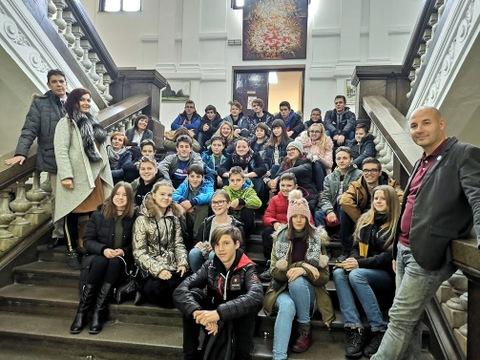 Kitarski orkester Glasbene šole Velenje v Valjevu (Srbija)