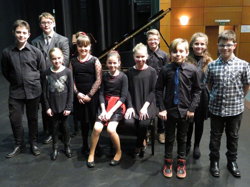 Koncert tekmovalcev v Šoštanju