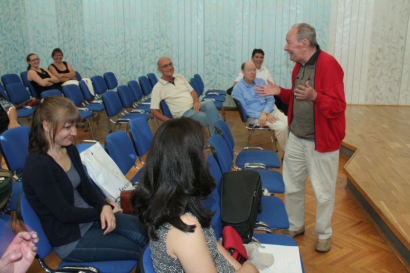 Začela se je 22. mednarodna poletna violinska šola prof. Igorja Ozima