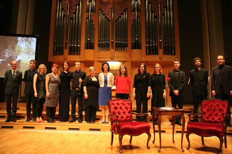 Koncert ob 20-letnici orgel v Glasbeni šoli Velenje