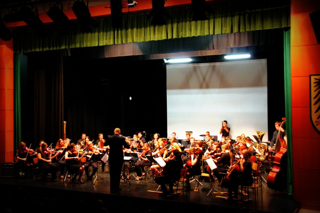 Nastop orkestrov Glasbene šole Velenje v Šoštanju, 10. decembra 2014