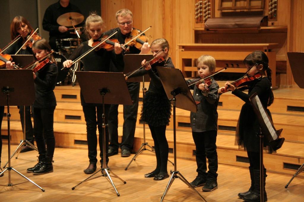 Koncert učencev oddelka Šoštanj in dijakov iz Šoštanja