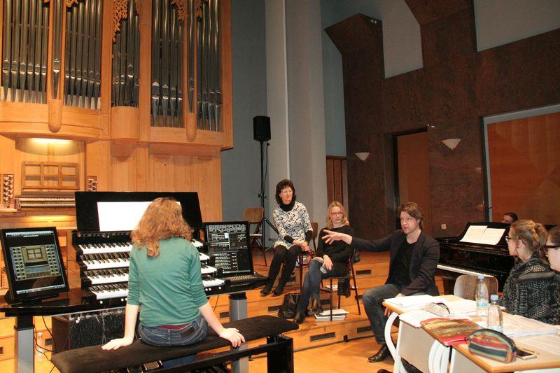 Ob zaključku 15. mednarodne orgelske šole