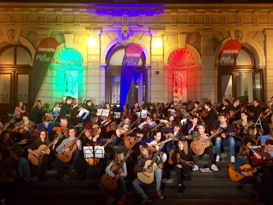 Kitarski orkester Glasbene šole Velenje v Zagrebu