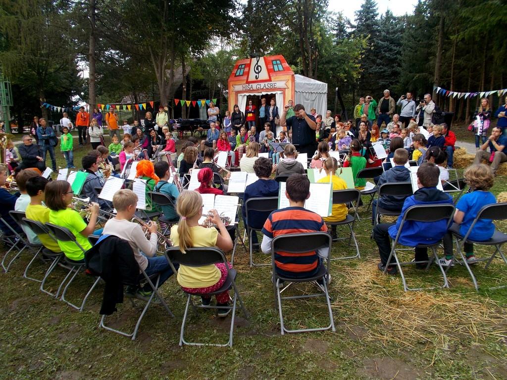 Glasbena šola na Pikinem festivalu