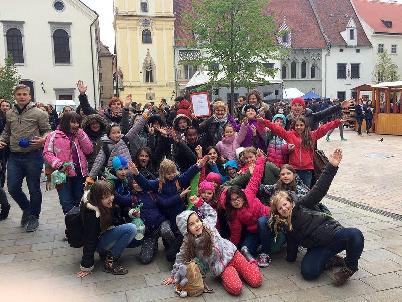 Otroški pevski zbor Glasbene šole Velenje na zborovskem festivalu