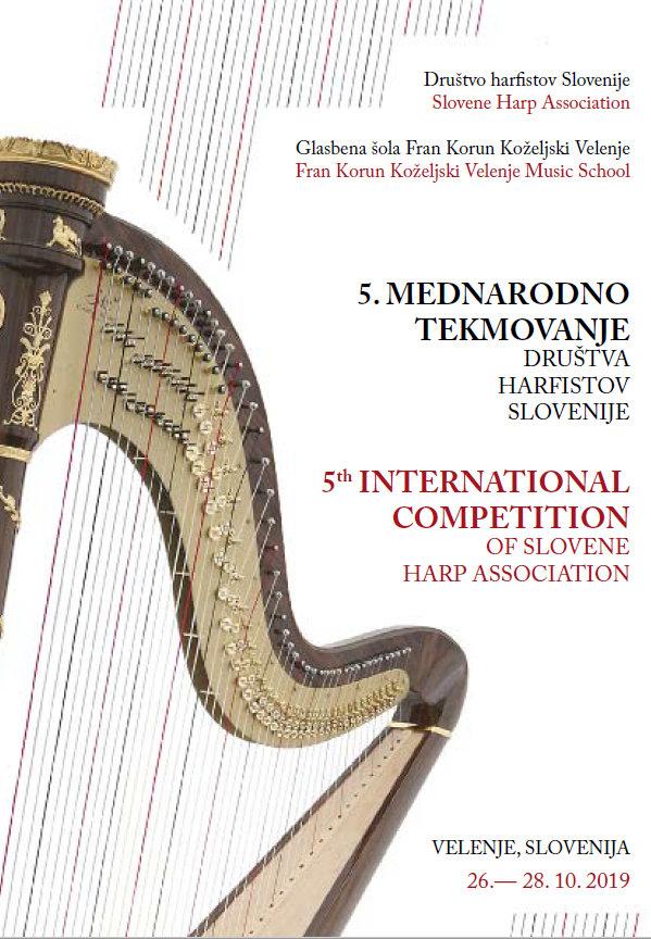 5. mednarodno tekmovanje Društva harfistov Slovenije