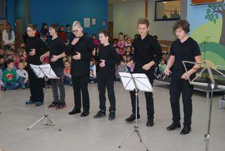 Koncert učencev oddelka Šoštanj v OŠ Šoštanj