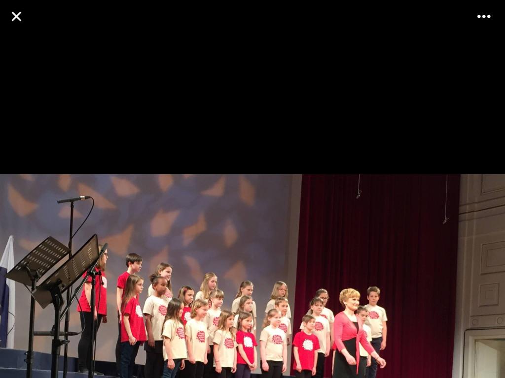 Nastopa zmagovalnega Otroškega pevskega zbora GŠ Velenje