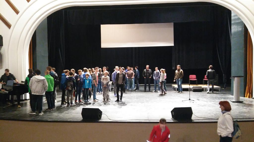 Prvo javljanje šolskega pihalnega orkestra s priprav