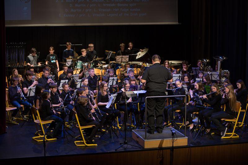 Naši orkestri na reviji pihalnih orkestrov slovenskih glasbenih šol v Šentjurju