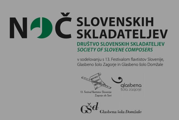 Noč slovenskih skladateljev - oglejte si v živo
