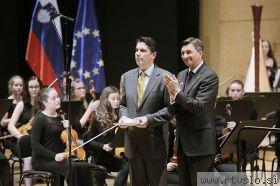 Zveza slovenskih glasbenih šol prejela državno odlikovanje