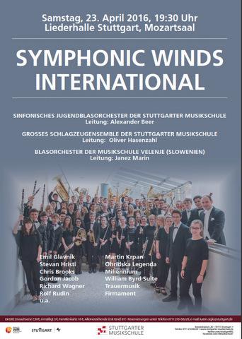 Pihalni orkester Glasbene šole Velenje aprila gostuje v Stuttgartu