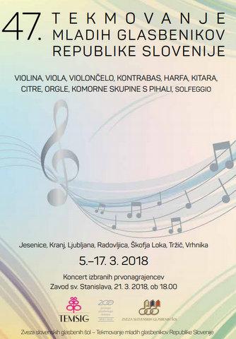 Začelo se je 47. tekmovanje mladih glasbenikov Republike Slovenije - TEMSIG