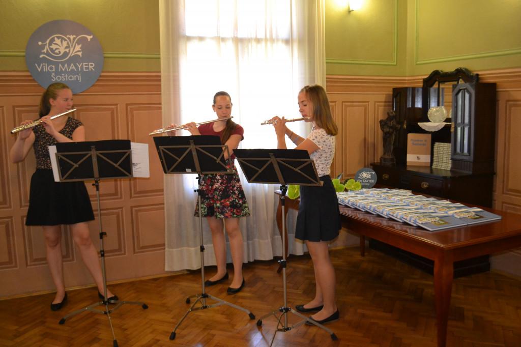 Tradicionalen sprejem najuspešnejših devetošolcev pri županu občine Šoštanj