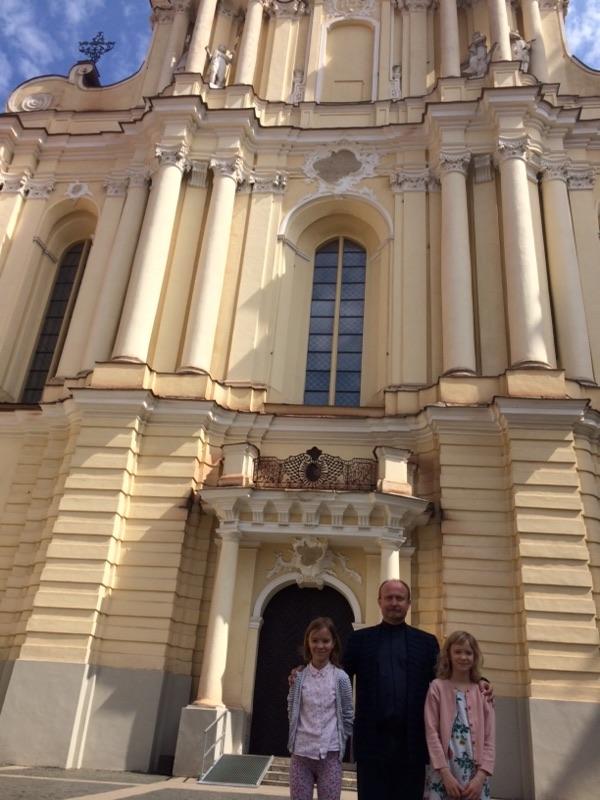 Naši učenki na gostovanju v Litvi