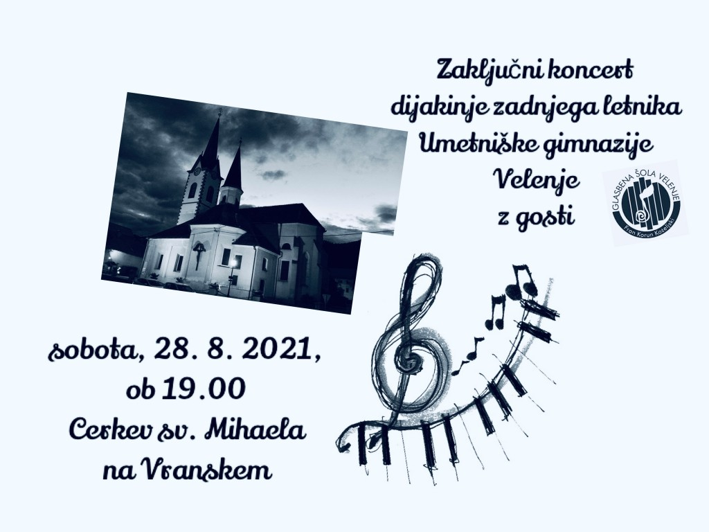 Amadeja Juhart (orgle) - zaključni koncert