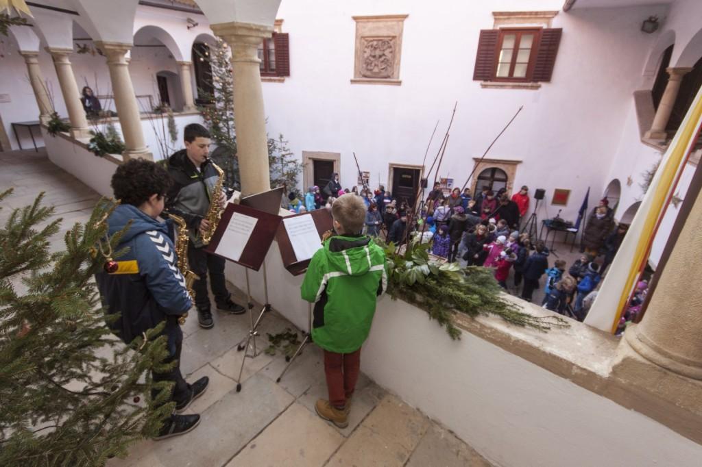 Nastop na velenjskem gradu