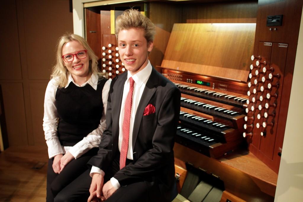 O orgelskem koncertu Izidorja Ostana v Cankarjevem domu