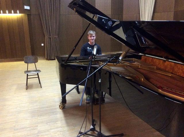 Snemanje pianistov
