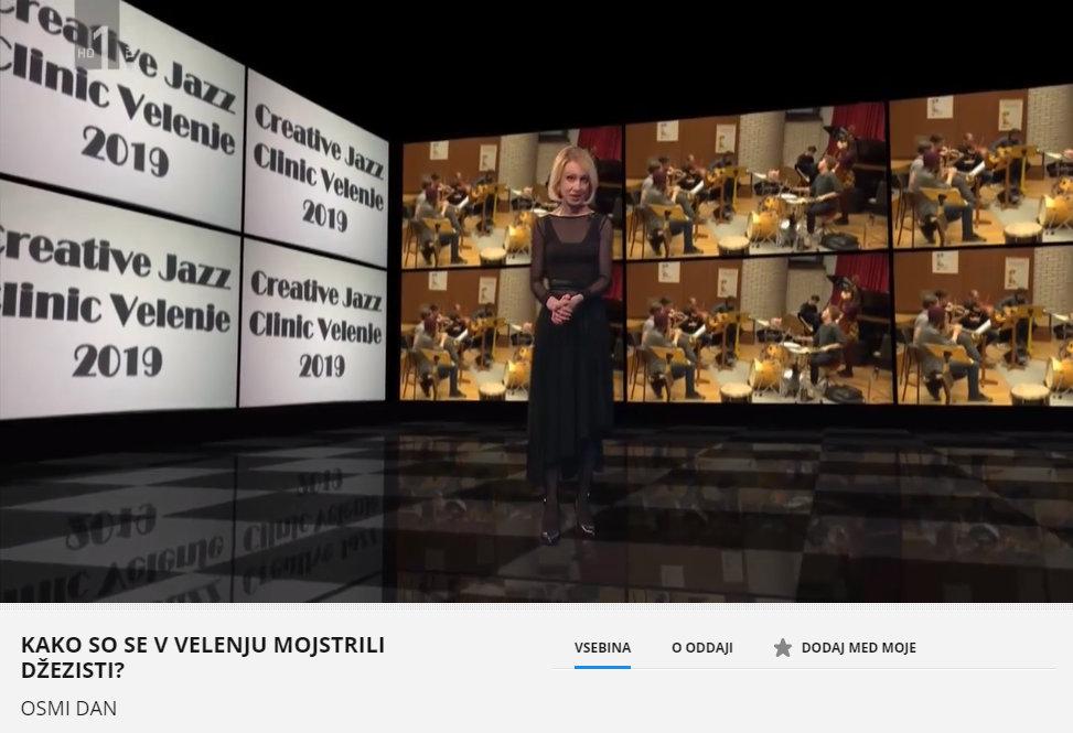 Kreativna Jazz klinika Velenje 2019