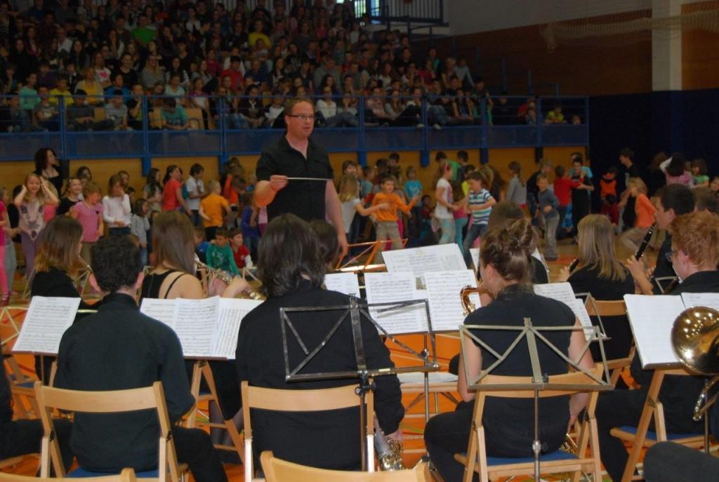 Pihalni orkestri so se predstavili v Šoštanju