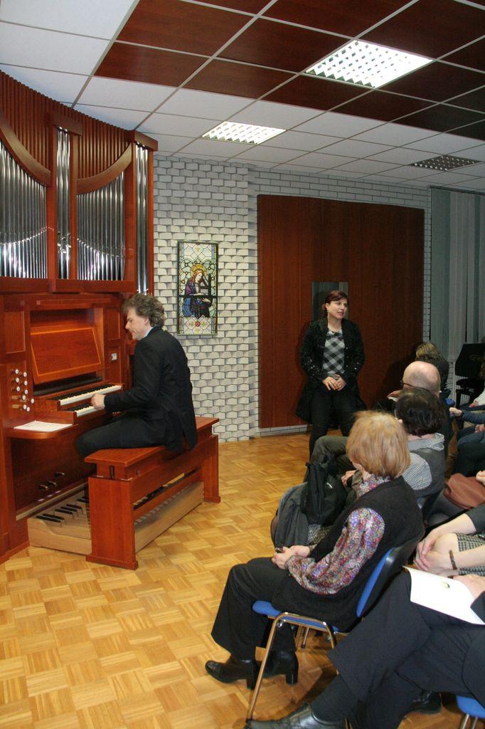 Otvoritev novih vadbenih orgel
