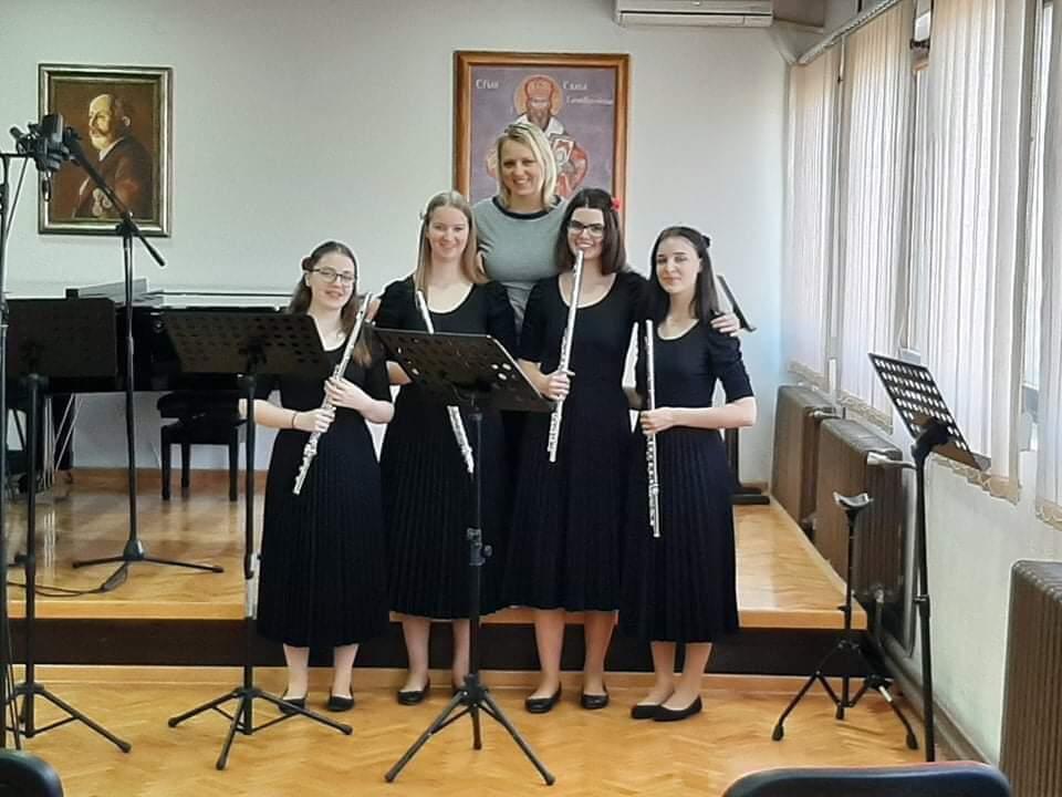 Uspehi naših flavtistov na mednarodnem spletnem tekmovanju